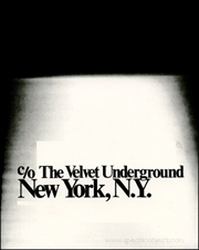 c/o The Velvet Underground, New York, N.Y.