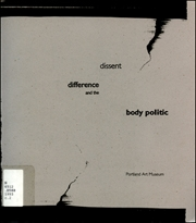 Dissent, Difference and the Body Politic