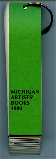 Michigan Artists' Books 1980