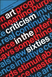 Art Criticism in the Sixties