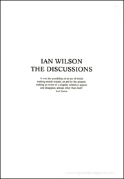 Ian Wilson : The Discussions