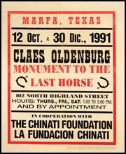 Poster : Monument to the Last Horse