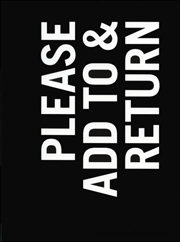 Ray Johnson : Please Add To & Return