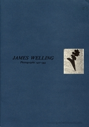 James Welling : Photographs 1977 - 1993