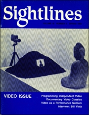 Sightlines : Video Issue