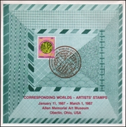 Corresponding Worlds : Artists' Stamps