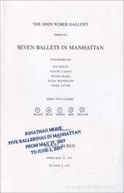 Five Ballerinas in Manhattan