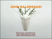 John Baldessari : BRICK BLDG, LG WINDOWS W/ XLENT VIEWS, PARTIALLY FURNISHED, RENOWNED ARCHITECT