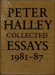 Peter Halley : Collected Essays 1981 - 87