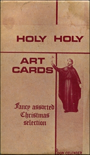 Holy Holy Art Cards : Fancy Assorted Christmas Selection
