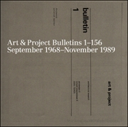 Art & Project Bulletins 1 - 156 : September 1968 - November 1989