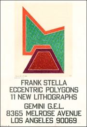 Frank Stella : Eccentric Polygons, 11 New Lithographs