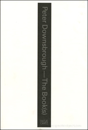 Peter Downsbrough : The Book(s)