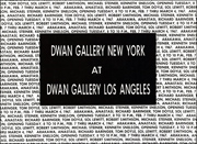Dwan Gallery New York at Dwan Gallery Los Angeles