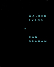 Walker Evans & Dan Graham