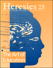 Heresies : A Feminist Publication on Art & Politics / 12 Years