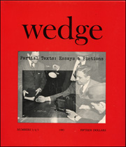 Wedge : Partial Texts : Essays and Fictions