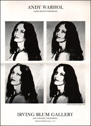 Andy Warhol : Some Recent Portraits