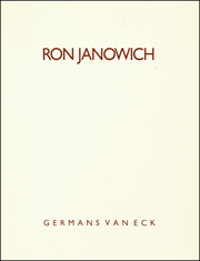 Ron Janowich : Paintings 1986