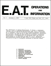 E.A.T. Operations and Information
