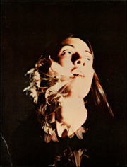 John Baldessari : Sonnabend 1975 [Girl With Flowers Falling from Her Mouth]
