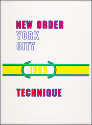 New Order : Technique 1989