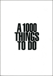 A 1000 Things To Do