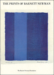 The Prints of Barnett Newman