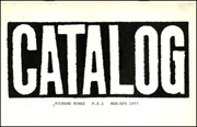 Catalog / Richard Nonas / P.S. 1 / MAR / APR 1977 / Richard Nonas / Montezuma's Breakfast / Sculpture