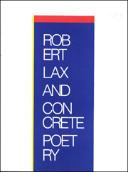 Robert Lax and Concrete Poetry