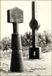 Beverly Pepper : Small Sculpture 1977 - 78