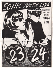 [Sonic Youth at Melody Ballroom, August Thurs. 23 / Moore Theatre August Fri. 24]