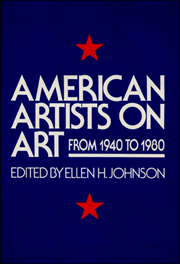 American Artists on Art From 1940 - 1980