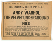 Do You Want to Dance and Blow Your Mind with The Exploding Plastic Inevitable : Live Andy Warhol The Velvet Underground and Nico