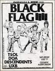 [Black Flag at the Olympic Auditorium / Saturday July 17]