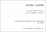 Andre Cadere