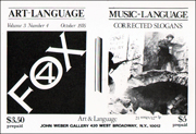 Art-Language / Art & Language