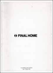 Final Home : Clothing Solutions Fall / Winter 2001
