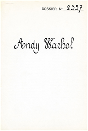 Andy Warhol : Dossier No 2357 [aka : The Thirteen Most Wanted Men]