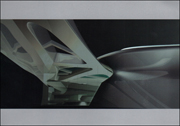 Zaha Hadid : Silver Paintings