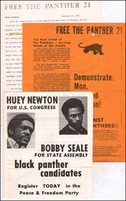 Free the Panther 21 Press Release and Flyer / Black Panther Candidates Pamphlet