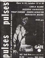 Pulses : First of the Gate's Underground Dance Events