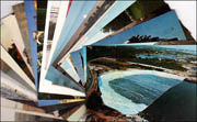 Twenty-Five Miscellaneous Christo and Jeanne-Claude Postcards