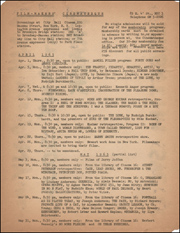Film-Makers' Cinematheque Program for April and May 1965