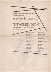The World Premiere of Electronic Opera