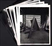 Seven Vintage Photographs by Peter Moore of Richard Serra's Sculpture