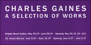 Charles Gaines : A Selection of Works
