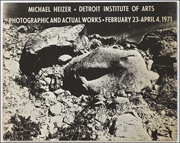 Michael Heizer : Photographic and Actual Works
