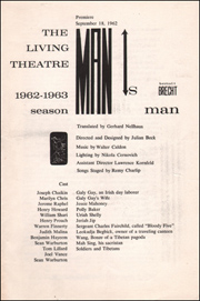 The Living Theatre : 1962 - 1963 Season, Bertolt Brecht's