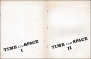 Time and Space I, Concepts in Music and Visual Art : A Symposium / Time and Space Concepts II in Event Art : A Symposium